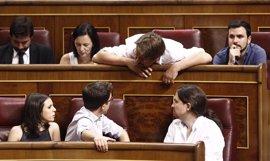 Unidos Podemos excede su cupo de preguntas al Gobierno para la sesión de control del Congreso