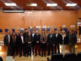 Reyes participa en la presentación del himno oficial del Jaén Paraíso Interior Fútbol Sala