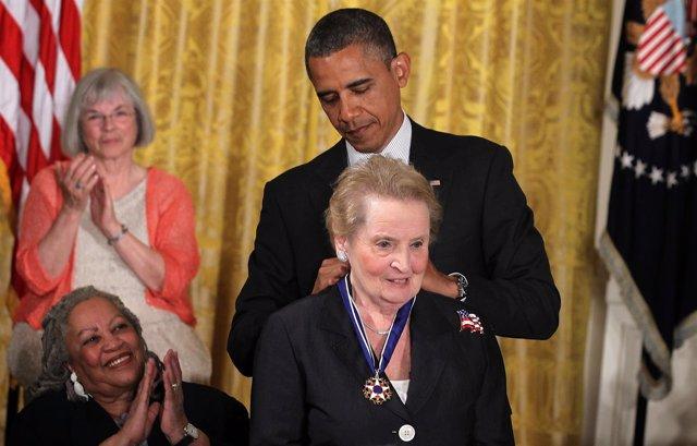 Resultado de imagen de Madeleine Albright obama