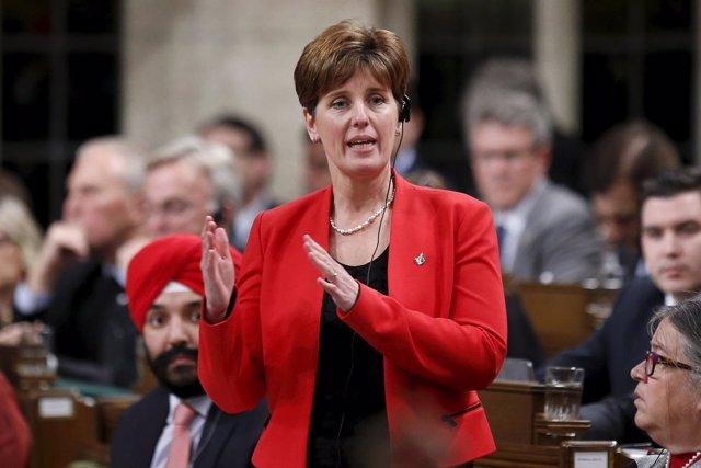 Ministra de Desarrollo de Canadá, Marie-Claire Bibeau