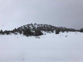 El norte de la provincia de Cáceres continúa este viernes en aviso amarillo por nevada