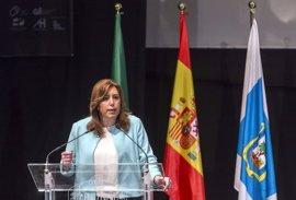 "Susana Díaz garantiza que Andalucía seguirá ""a la vanguardia"" en atención temprana"