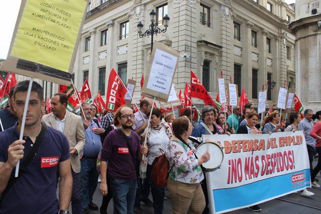 Dictados los servicios mínimos para la huelga de los comedores ...