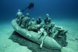 La apertura del Museo Atlántico de Lanzarote alcanza a casi 200 millones de personas a través de los medios