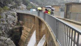 Las lluvias han dejado hasta 300 litros por metro cuadrado en algunas zonas de Mallorca