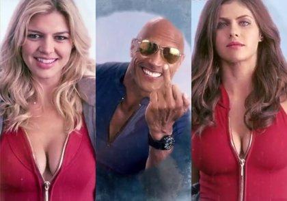 'Sexis' y tronchantes carteles en movimiento de Baywatch: Los vigilantes de la playa