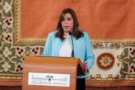 """Susana Díaz se solidariza con México ante una """"intolerancia que se hace piedra y hecho"""""""