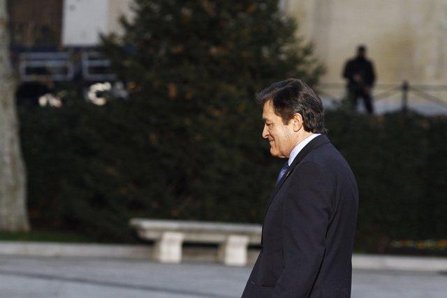 Javier Fernández llega a la Conferencia de Presidentes