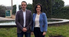 """Andreu (PSOE) manifiesta su compromiso de """"potenciar la industria, la cultura y el turismo"""" de Nájera"""