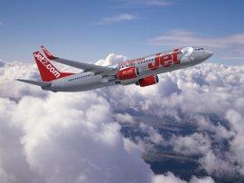 Las cinco nuevas rutas de Jet2.com de Reino Unido a Almería ofrecerán 56.000 asientos esta temporada