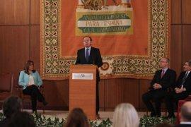 """El presidente del Senado aboga por una Europa """"de los ciudadanos"""" con valores de democracia y libertad"""
