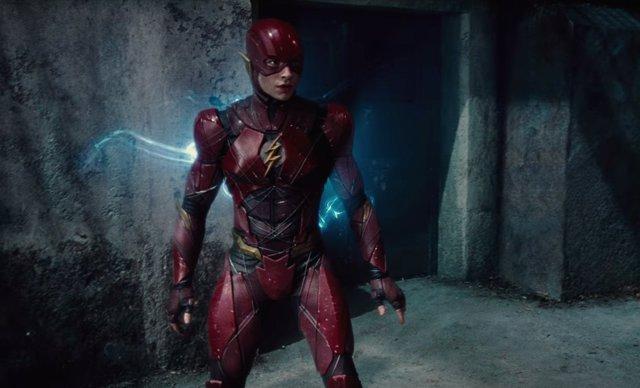 The Flash, La liga de la justicia