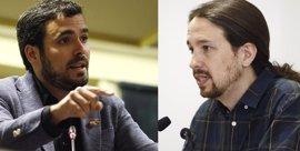 Garzón se queja a Iglesias de que en Podemos usen a IU para descalificarse: Es intolerable