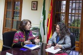 """Junta traslada a la comisionada para el Polígono Sur de Sevilla su """"rechazo"""" al sitio anunciado para la comisaría"""