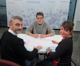"""Errejón (Podemos) apuesta por una política """"responsable"""" del agua y """"avanzar en la solidaridad interterritorial"""""""
