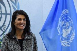 La embajadora de EEUU ante la ONU amenaza con castigar a los aliados que no respalden las decisiones de Trump