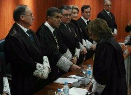 La magistrada Lourdes García toma posesión como presidenta de la Audiencia de Málaga