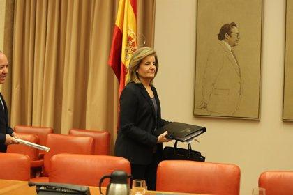 Báñez felicita al Congreso por adelantar una hora el Pleno para conciliar