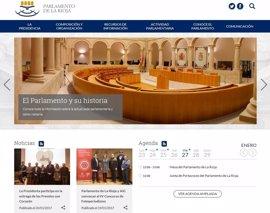 """El Parlamento presenta una página web para """"mejorar la relación de la institución con los ciudadanos"""""""