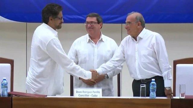 Gobierno colombiano y las FARC