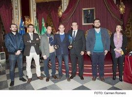 Entregados en la Diputación de Cádiz los premios de la Gala Anual de Automovilismo provincial