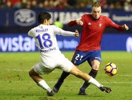 Osasuna y Málaga se reparten el botín en El Sadar