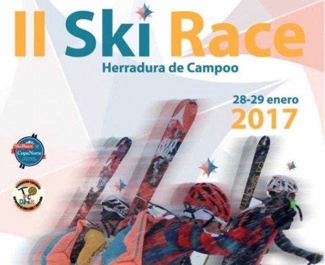 Cartel de la cita deportiva este fin de semana en Alto Campoo