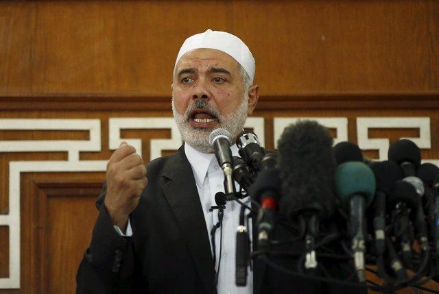 Ismail Haniye, líder de Hamás