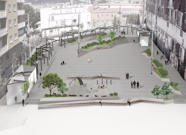 Proyecto de renovación de la plaza Joan Pelegrí