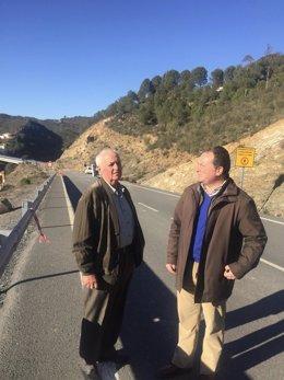 PP pide la reapertura del puente de El Granado (Huelva)