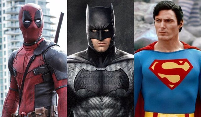 Deadpool, Batman y Superman