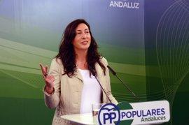 """PP-A: Susana Díaz """"está en sus cosas"""" y los andaluces son """"víctimas de su duelo al sol"""" con Pedro Sánchez"""