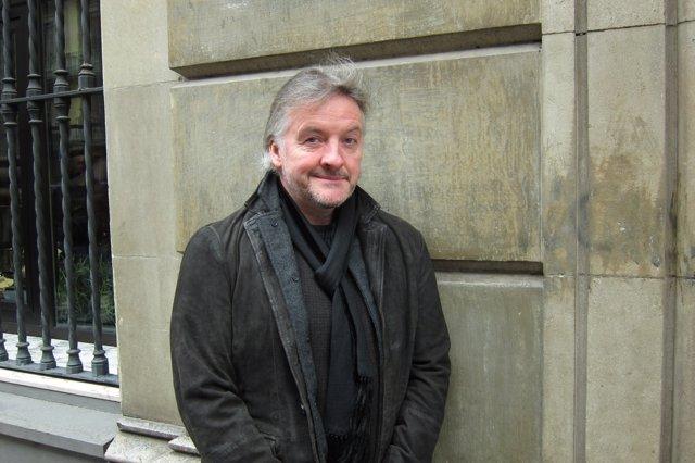 El escritor John Connolly en Barcelona