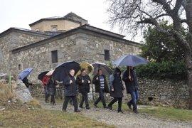 La Diputación de Huesca seguirá con la mejora de los accesos al Monasterio de San Victorián