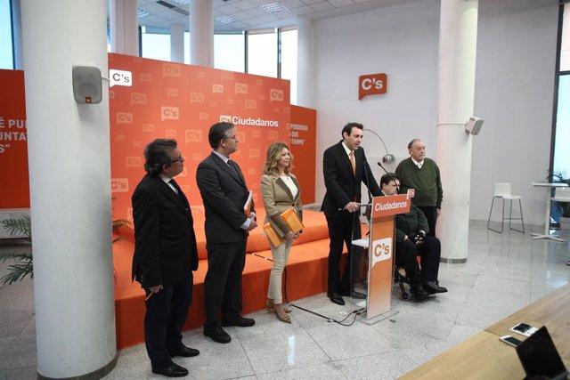 Juan Carlos Bermejo presenta su candidatura  a la Presidencia de Ciudadanos