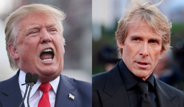 Donald Trump y Michael Bay