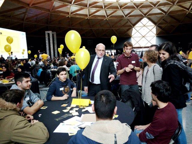 J.Baiget y M.Ruiz, durante la celebración del 'iFest'