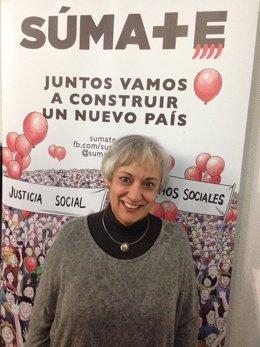 La presidenta de Súmate, Montse Sánchez