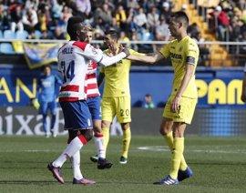 El Villarreal pone fin a la mala racha ante el Granada