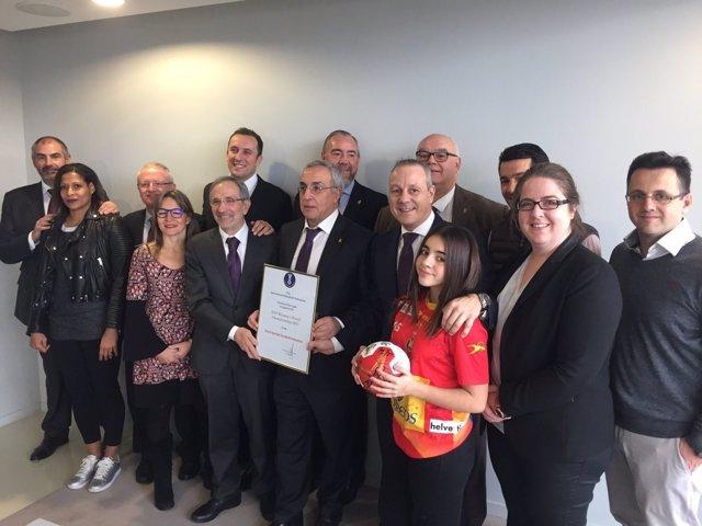 Concesión España Mundial femenino balonmano 2021