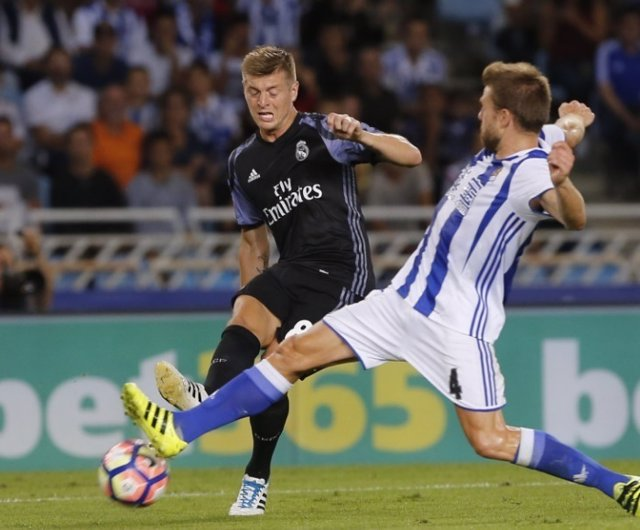 Toni Kroos Asier Illarramendi Real Madrid Real Sociedad
