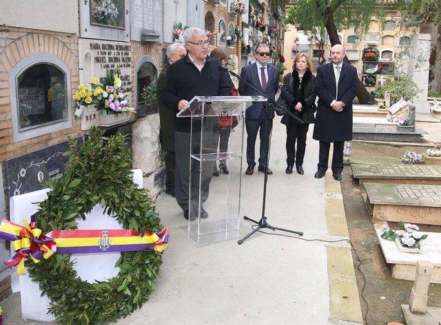 Ribó en el homenaje a Blasco Ibáñez