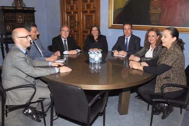 Diputación, Iprodeco y CECO se unen por proyectos de financiación europeos