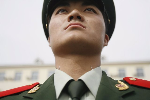 Militar del Ejército chino