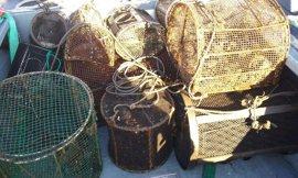 Pesca.- Requisados más de 600 kilos de pescado y 127 aparejos en distintos operativos contra el furtivismo