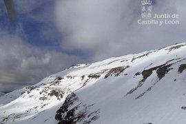 Evacuado en helicóptero un montañero herido en una pierna en el Monte de la Cubada Grande (Burgos)