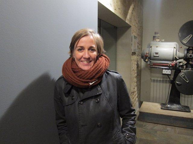 Tania Sánchez, en Logroño