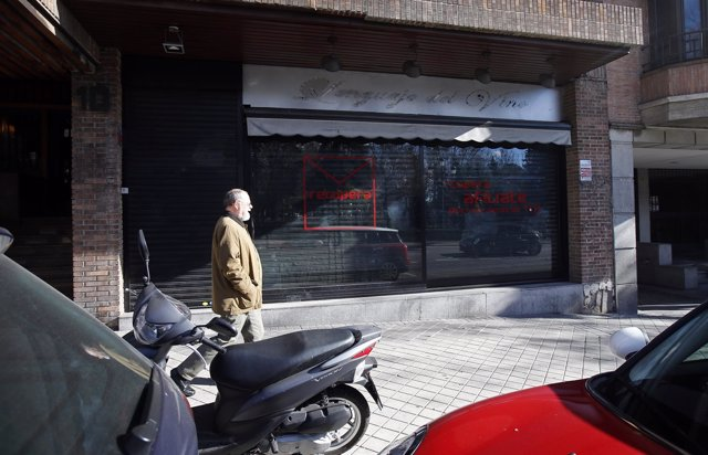 Local en la calle Ferraz de Madrid, número 10, de la plataforma Recupera PSOE
