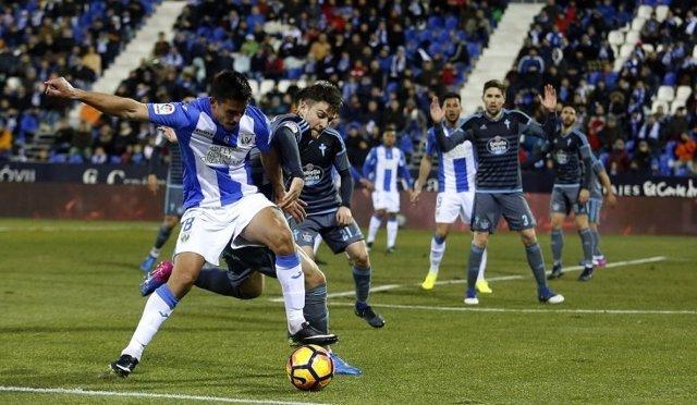 El Leganés cae ante el Celta de Vigo