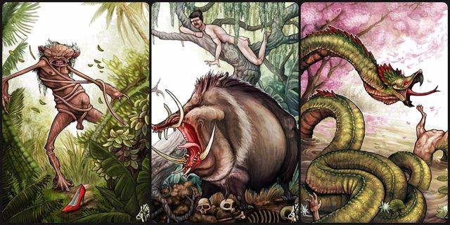 Monstruos Guraníes